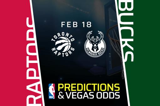 Free NBA Pick: Raptors vs Bucks Prediction & Vegas Odds (Feb 18)