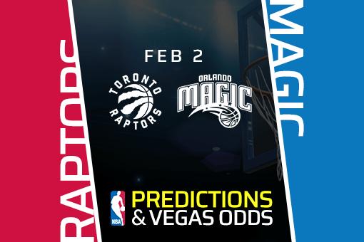 Free NBA Pick: Raptors vs Magic Prediction & Vegas Odds (Feb 2)