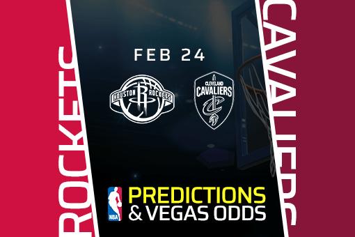 Free NBA Pick: Rockets vs Cavaliers Prediction & Vegas Odds (Feb 24)
