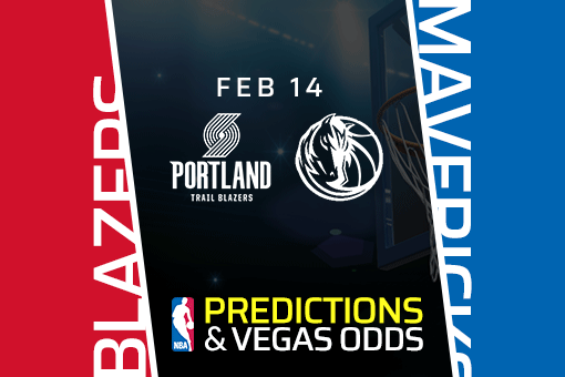 Free NBA Pick: Trail Blazers vs Mavericks Prediction & Vegas Odds (Feb 14)