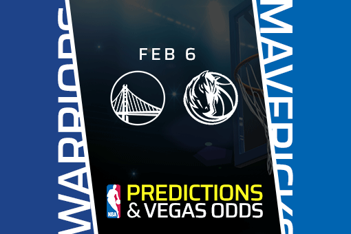 Free NBA Pick: Warriors vs Mavericks Prediction & Vegas Odds (Feb 6)