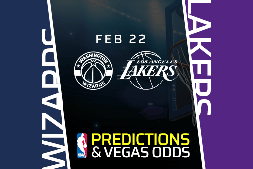 Free NBA Pick: Wizards vs Lakers Prediction & Vegas Odds (Feb 22)