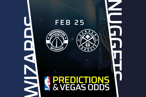 Free NBA Pick: Wizards vs Nuggets Prediction & Vegas Odds (Feb 25)