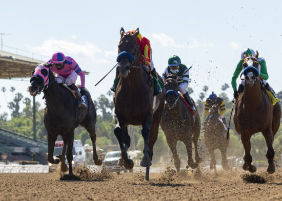 Horse Racing: Santa Anita