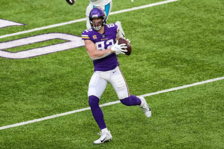 Minnesota Vikings and Kyle Rudolph Part Ways After 10 Years