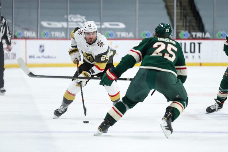 Free NHL Pick: Golden Knights vs Wild Prediction & Lines (Mar 10)