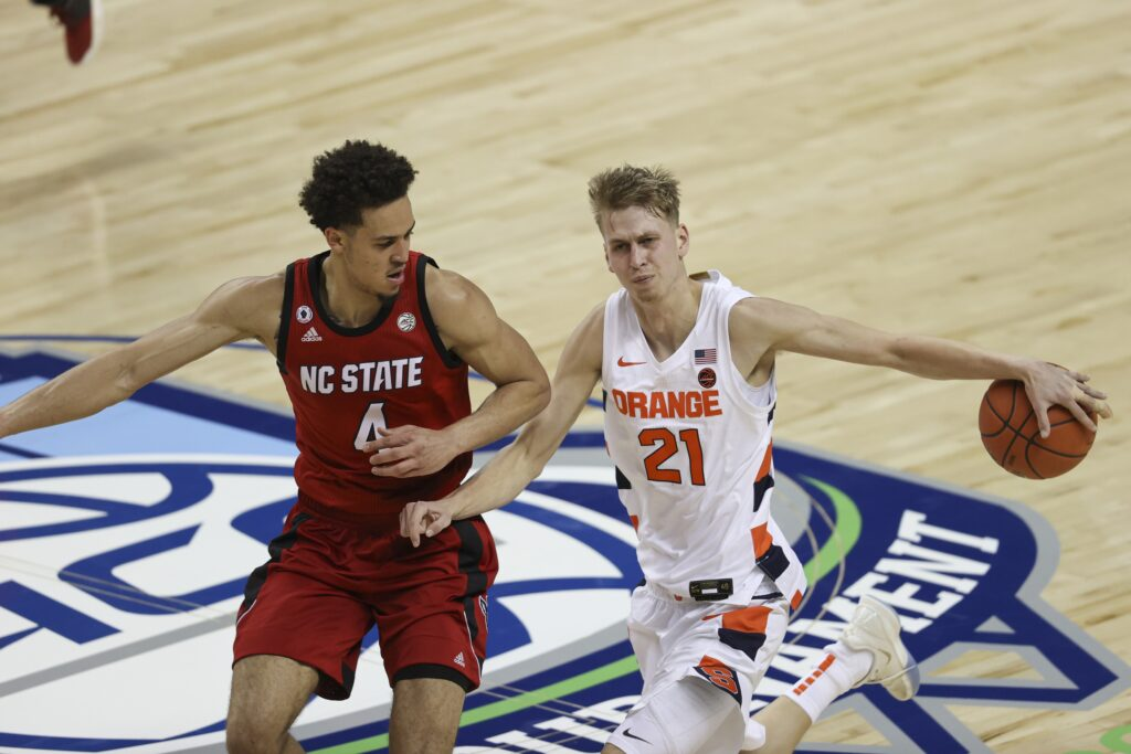 Ncaa Basketball: Acc Conference Tournament Nc State Syracuse