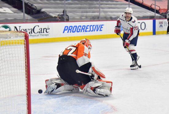 Nhl: Washington Capitals At Philadelphia Flyers