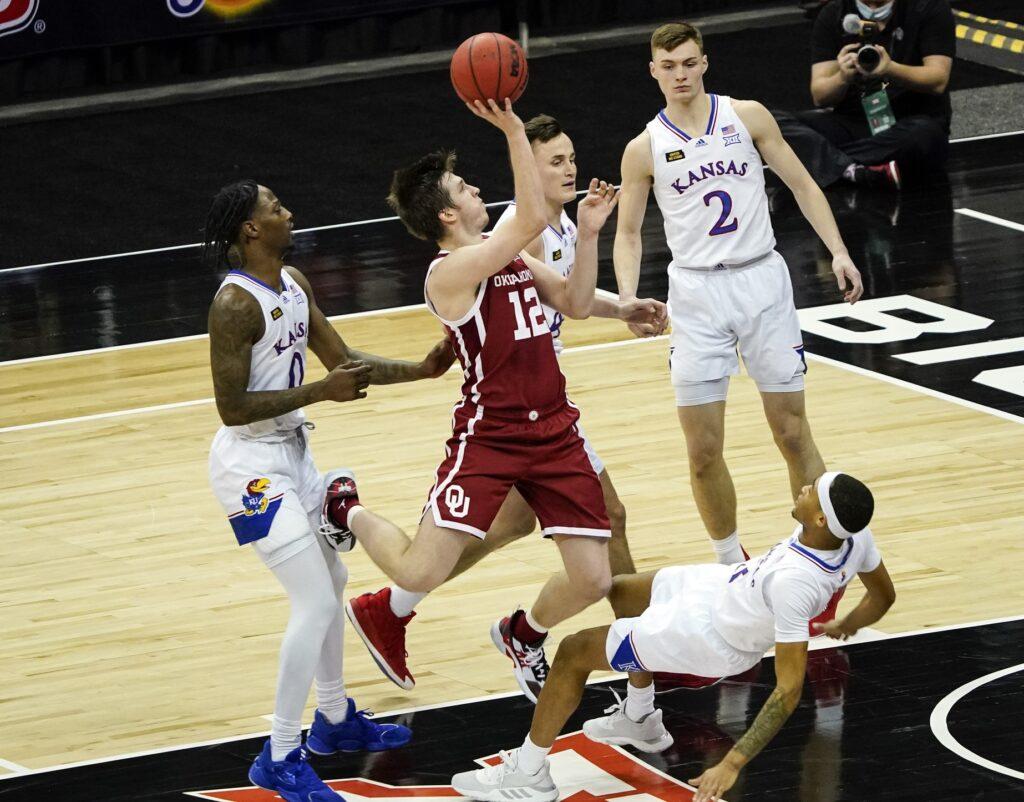 Ncaa Basketball: Big 12 Conference Tournament Oklahoma Vs Kansas