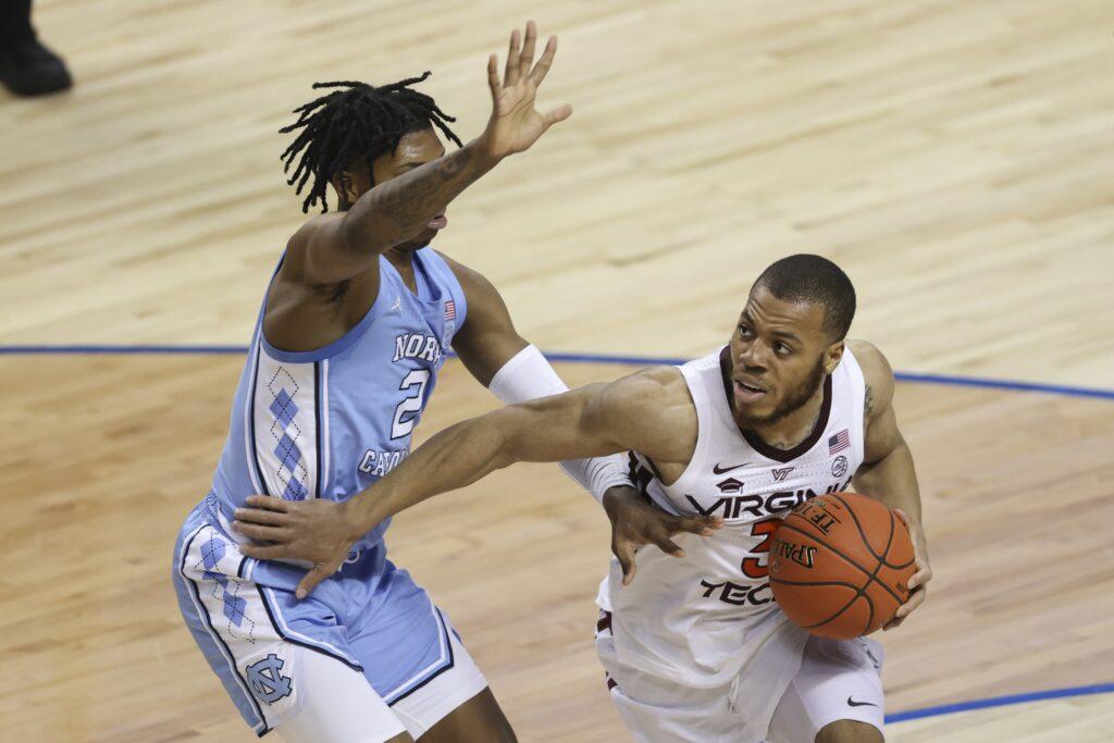 Ncaa Basketball: Acc Conference Tournament Virginia Tech North Carolina
