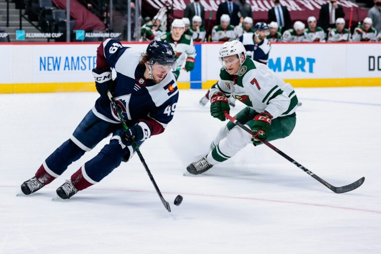 Free NHL Pick: Wild vs Avalanche Prediction & Lines (Mar 20)