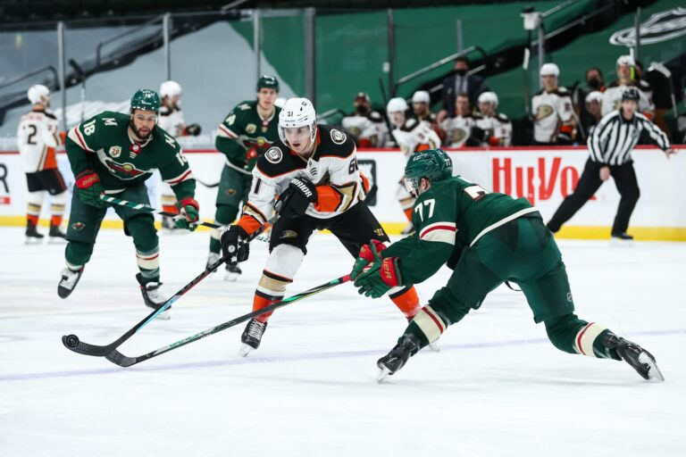 Free NHL Pick: Ducks vs Wild Prediction & Lines (Mar 24)