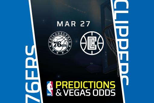 Free NBA Pick: 76ers vs Clippers Prediction & Vegas Odds (Mar 27)