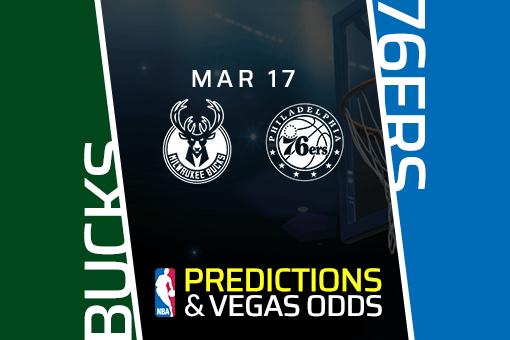 Free NBA Pick: Bucks vs 76ers Prediction & Vegas Odds (Mar 17)