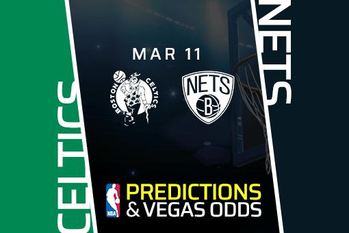 Free NBA Pick: Celtics vs Nets Prediction & Vegas Odds (Mar 11)