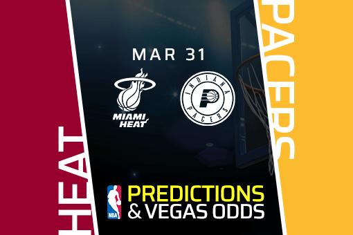 Free NBA Pick: Heat vs Pacers Prediction & Vegas Odds (Mar 31)