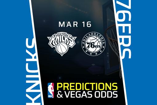 Free NBA Pick: Knicks vs. 76ers Prediction & Vegas Odds (Mar 16)
