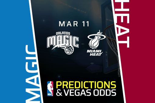 Free NBA Pick: Magic vs Heat Prediction & Vegas Odds (Mar 11)