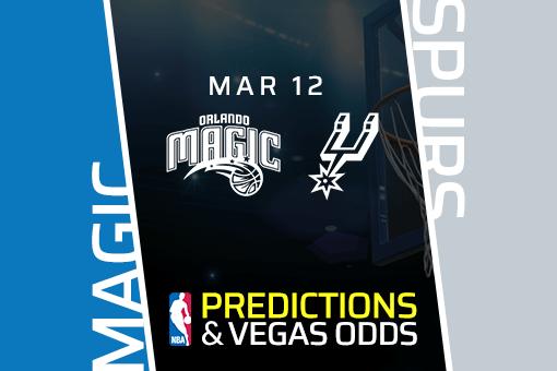 Free NBA Pick: Magic vs Spurs Prediction & Vegas Odds (Mar 12)