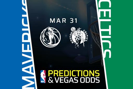 Free NBA Pick: Mavericks vs Celtics Prediction & Vegas Odds (Mar 31)