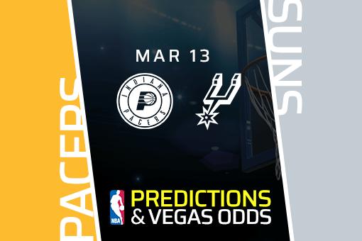 Free NBA Pick: Pacers vs. Suns Prediction & Vegas Odds (Mar 13)