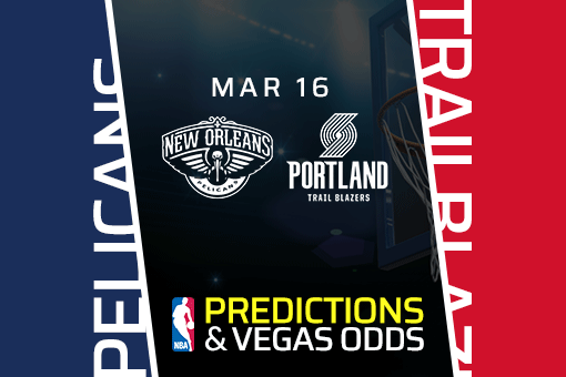 Free NBA Pick: Pelicans vs. Trail Blazers Prediction, Odds (Mar 16)