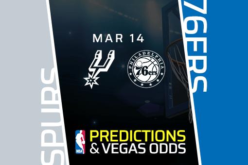 Free NBA Pick: Spurs vs. 76ers Prediction & Vegas Odds (Mar 14)