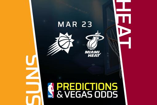 Free NBA Pick: Suns vs Heat Prediction & Vegas Odds (Mar 23)