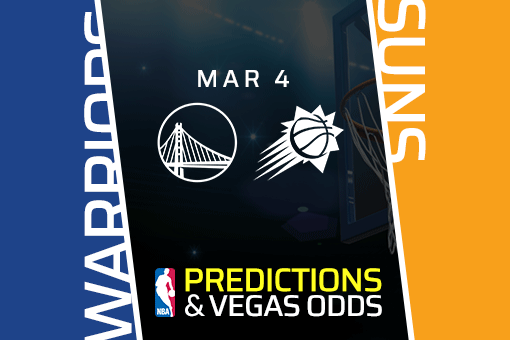 Free NBA Pick: Warriors vs Suns Prediction & Vegas Odds (Mar 4)