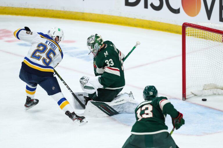 NHL Picks: Blues vs Wild Prediction & Lines (Apr 29)