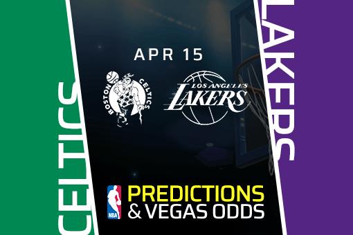 NBA Picks: Celtics vs Lakers Prediction, Vegas Odds (Apr 15)