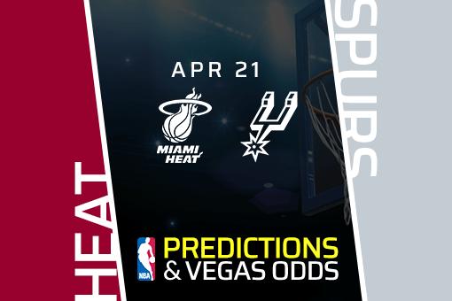 Free NBA Pick: Heat vs Spurs Prediction & Vegas Odds (Apr 21)