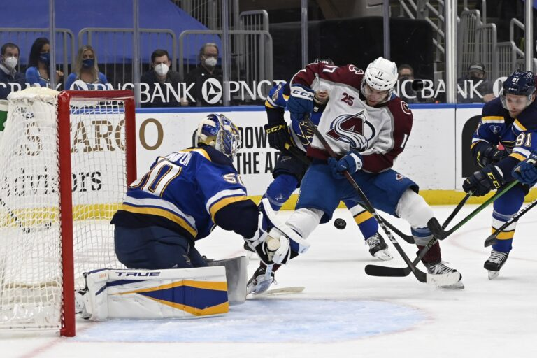 NHL Picks: Blues vs. Avalanche Prediction, Lines (May 17)