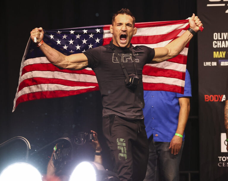 UFC: Dana White Hints at Michael Chandler's Next Opponent