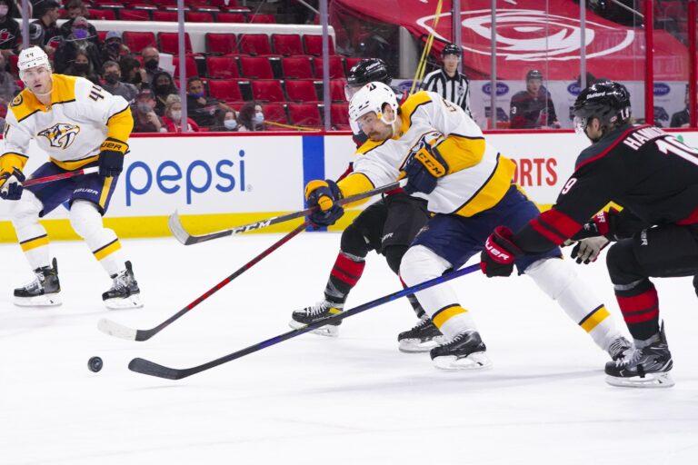 NHL Picks: Predators vs. Hurricanes Prediction, Lines (May 19)