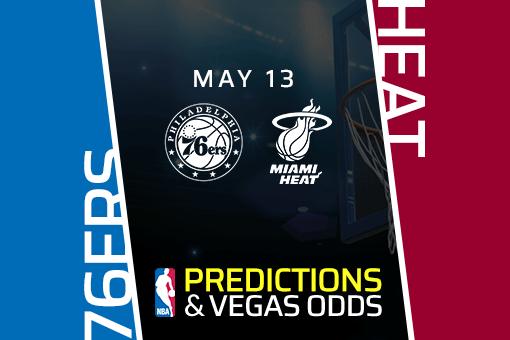NBA Picks: 76ers vs Heat Prediction, Vegas Odds (May 13) Bet Miami Heat on the Moneyline