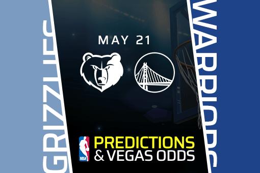 NBA Picks: Grizzlies vs Warriors Prediction, Vegas Odds (May 21) Bet Warriors on the Spread