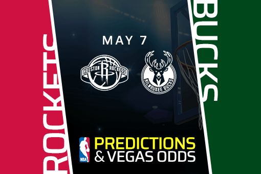 Free NBA Pick: Houston Rockets vs Milwaukee Bucks Prediction & Vegas Odds (May 7)