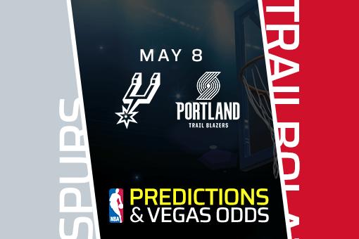 NBA Picks: Spurs vs Trail Blazers Prediction, Vegas Odds (May 8)