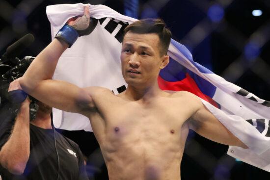 UFC: Fight Night: Korean Zombie vs. Ige Full Results and Performance Bonuses