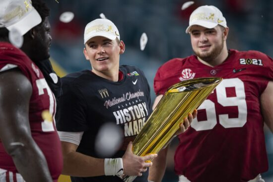 College Football Championship Odds – Five Teams Lead the Pack