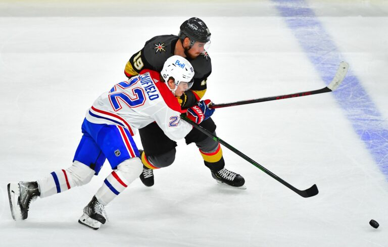 NHL Picks: Canadiens vs Golden Knights Prediction, Lines (June 16)