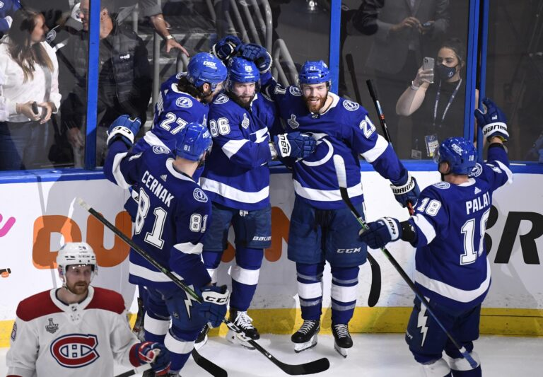 Lightning Take Game One of Stanley Cup Finals in Emphatic Fashion