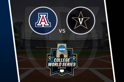 College World Series 2021: Arizona vs Vanderbilt Schedule, Odds (June 19)