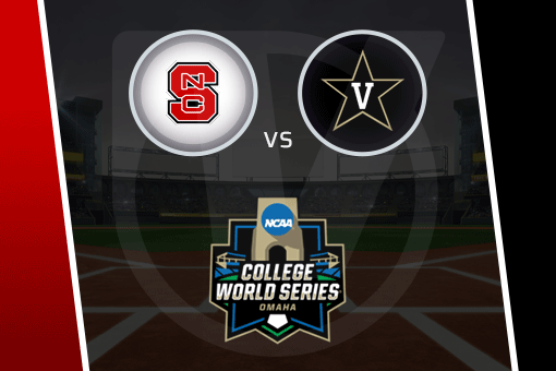 College World Series 2021: NC State vs Vanderbilt Schedule, Odds (June 25)