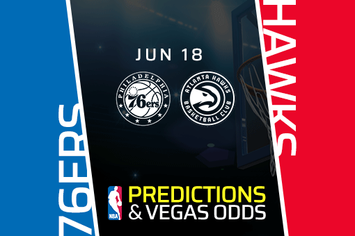 Vegasodds NBA Picks: Take the Under as Hawks Look to Close the Series Vs Sixers