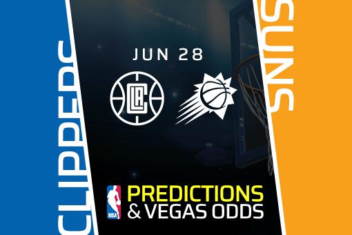 NBA Picks: Clippers vs. Suns Prediction, Odds (June 28)