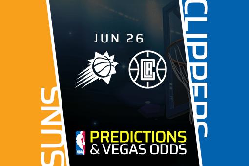 NBA Picks: Suns vs Clippers Prediction, Game 4 Odds (June 26)