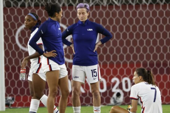 Tokyo 2020: Mediocre Day for the US Ladies