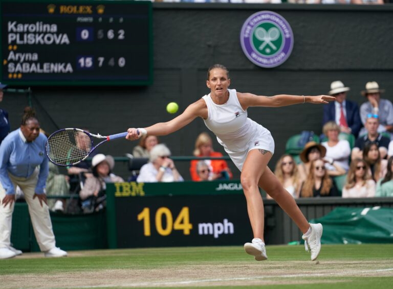 Wimbledon: Barty Meets Pliskova in the Finals